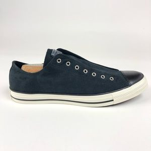 Converse CTAS Black Laceless Slip On Shoes 161325F
